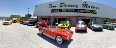 Tom Donney's Extensive Showroom